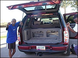 abdi abdirahman and his car