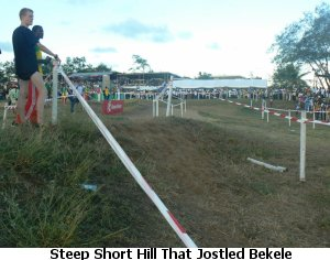 Hill That Seemed to Jostle Bekele