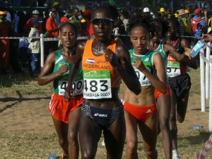 Lornah Kiplagat on the Way to Victory