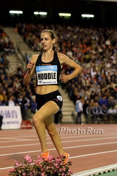 Molly Huddle American Record 5000m