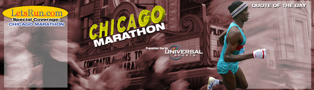 LetsRun.com - Chicago Marathon