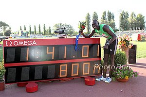 David Rudisha 1:41.01 800m World Record