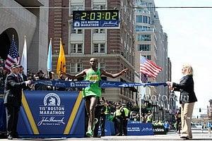 Geoffrey Mutain Boston Marathon