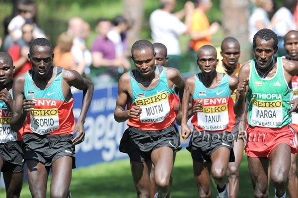 geoffrey mutai. kenyan runners