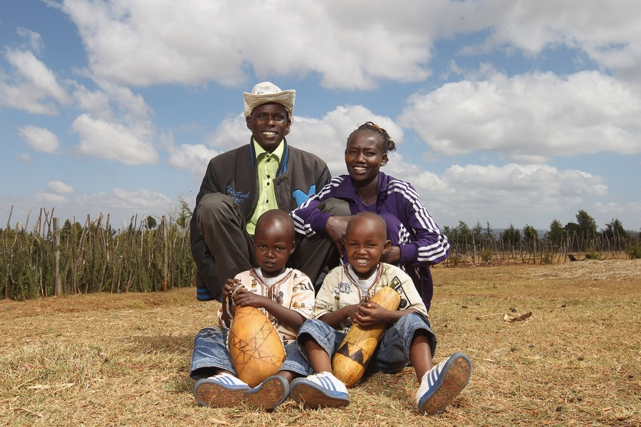 Mary Keitany and Family