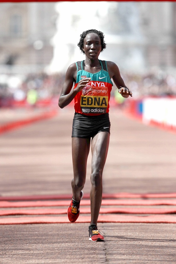 Edna Kiplagat With Her First Sub 2:20 Clocking