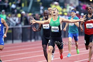 Nick Symmonds Wins the Olympic Trials