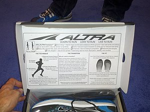 Instructions for the Altra Shoes