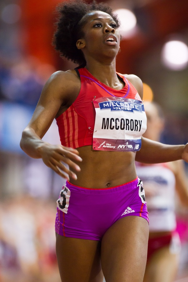 Francena McCorory adidas