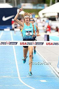 Jager Celebrates His Steeple Win