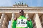 World Record Holder Patrick Makau