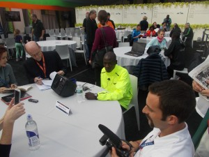Moses Mosop Prior To New York 2012