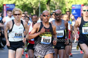 Ryan Hall, Meb Keflezighi, Abdi Abdirahman