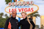 Suzy Favor Hamilton and 2004 Olympic Silver Medallist Meb Keflezighi in Las Vegas on Dec. 2nd at the 2012 Las Vegas Rock n Roll Marathon