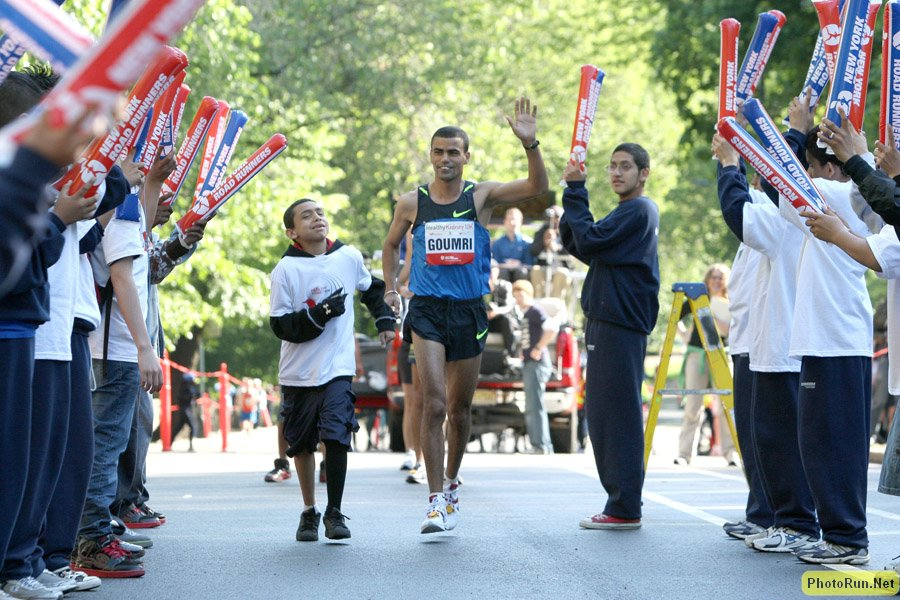 Abderrahim Goumri at the 2008 Healthy Kidney 10k.