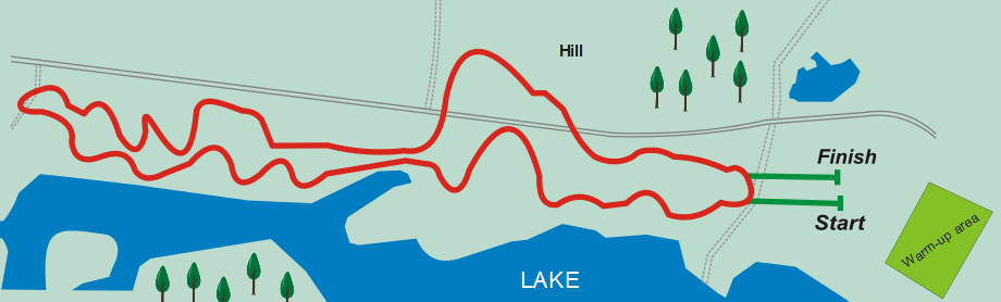 Map of 2013 World Cross Country Course
