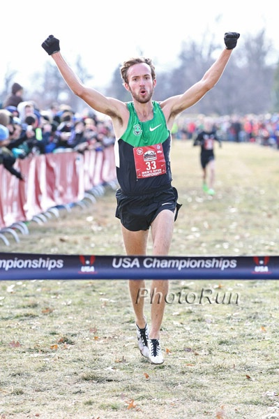 Chris Derrick wins 2013 US Cross Country title *2013 US Cross Country Photos