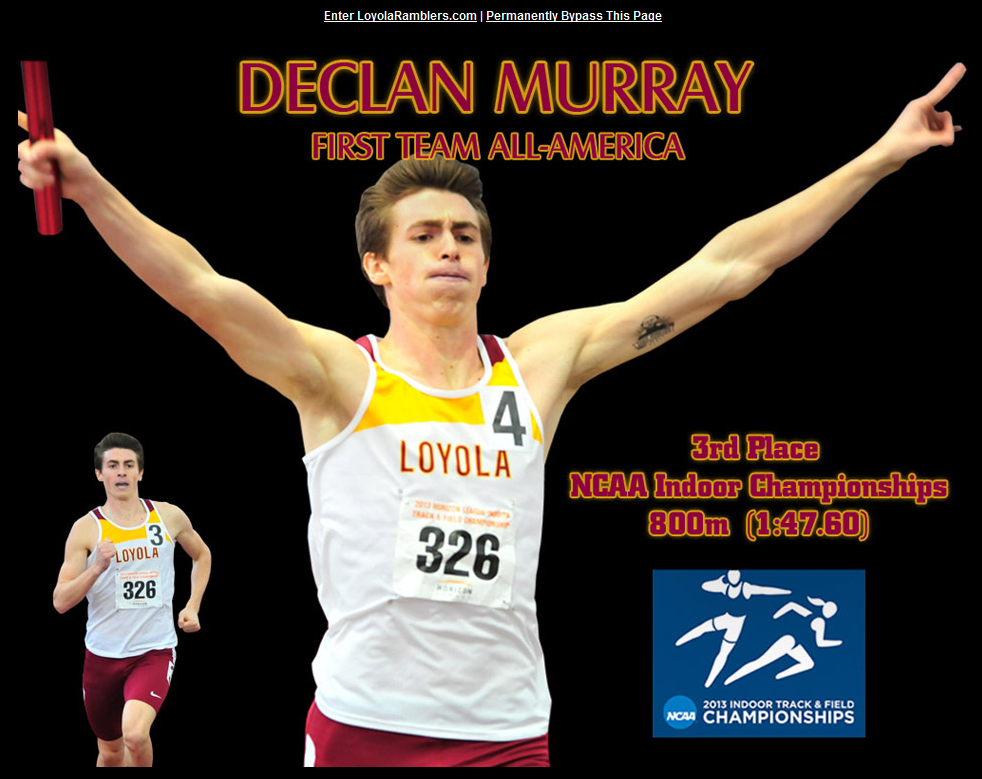 We're glad someone besides LetsRun.com cares a lot about NCAAs as well.