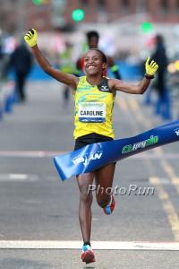 Caroline Rotich Wins 2013 NYC Half