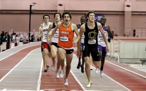 Will Robby Andrews get another come from behind victory in Sunday's final like he did at the2010 NCAA indoor meet?