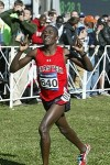 Kenned Kithuka enjoying the end of the 2012 NCAA cross country meet *2012 NCAA Cross Country Photos