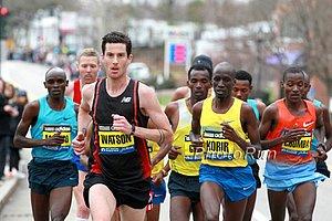 Rob Watson leading Boston