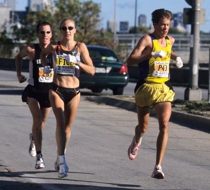 Paula Radcliffe 2002 World Record Chicago Marathon