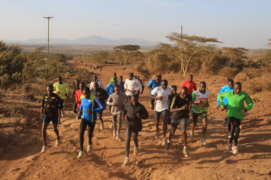 Back to Training for Makau (photo by Michael Steele, Getty Images, part of IAAF Day in the Life Series)