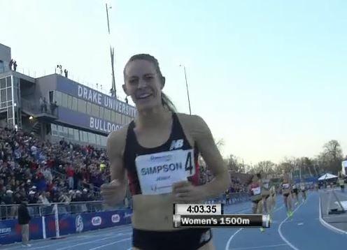 A very happy Jenny Simpson