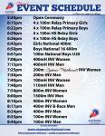 2013 Cayman Invitational Schedule