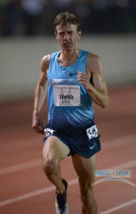 Alan Webb struggling at the 2013 USATF Oxy High Performance Meet *More 2013 Oxy Photos