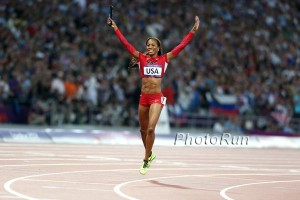 Sanya Richards Ross Olympic Champion