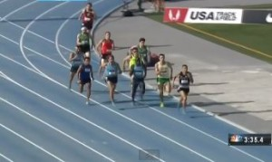 A lot of guys in contention with 100m Left