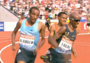 Mo Getting the Lead with 150 to go