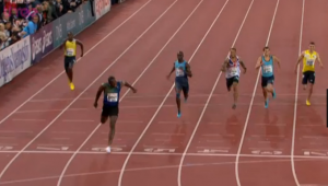 Usain Bolt didn't let up tonight