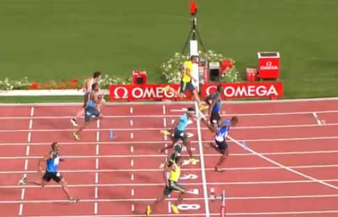 Usain Bolt loses