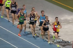 Bobby Curtis Pushes the Pace in Men's 10,000m Final