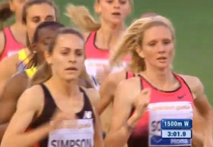 Jenny Simpson Leading at the Bell at Good Sight (Watch the Race Above)