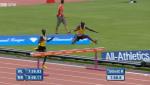 Brimin Kipruto trailed heading into the last barrier