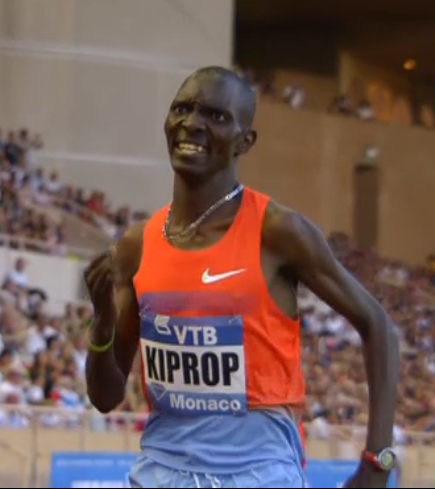 Kiprop had to dig deep for this one