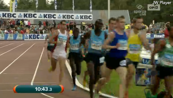 Ryan HIll with 1k to go