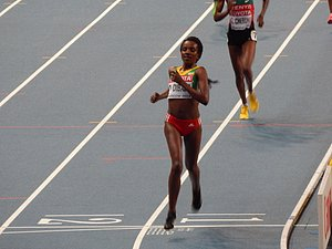 Tirunesh Dibaba Wins World Gold #5