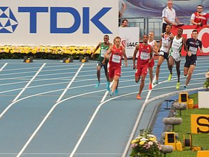 100m to Glory in Men's 800m