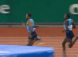 Souleiman Leads In Final 200m