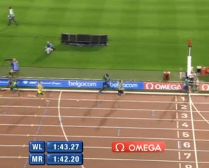 1:43.27 World Leader for Aman