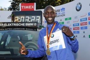Kipsang set the world record last year in Berlin