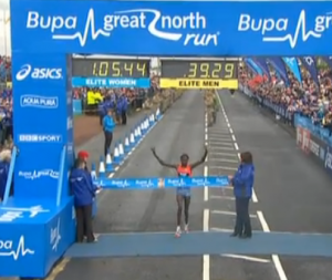 Priscah Jeptoo Wins The Great North Run in a Stellar Time