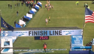 2013 NCAA steeple champ Anthony Rotich was a clear second