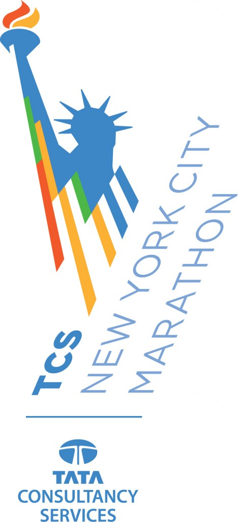 The TCS New York City Marathon logo for 2014