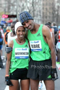 Both Kidane and her husband are world cross country champions. Someone recruit their children.